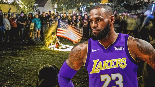 Lakers' LeBron James expresses deep concern over Thousand Oaks shooting