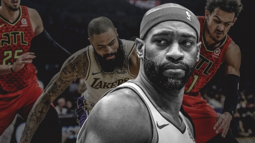 Hawks' Vince Carter went straight to the weight room after loss to Lakers