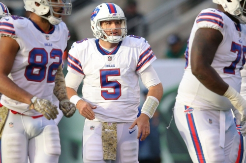 Matt Barkley was actually the starting quarterback for the Bills in Week 10