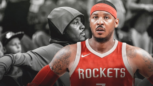 Rockets players, members of organization knew Carmelo Anthony needed to 'get with it or get lost'