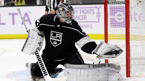 Kings goalie Jack Campbell out 4-6 weeks with torn meniscus