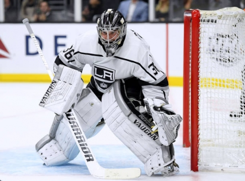 Los Angeles Kings Goaltender Jack Campbell Out 4-6 Weeks with Torn Meniscus