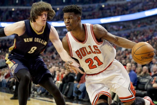 Report: Jimmy Butler trade talks included Pelicans' Nikola Mirotic, first-round pick