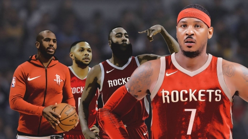 Carmelo Anthony is an easy scapegoat, but Rockets have bigger issues