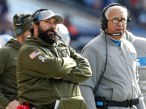 The Lions aren't considering firing any other coaches right now