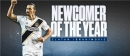 NEWCOMER OF THE YEAR: MLS honors Galaxy's Ibrahimovic