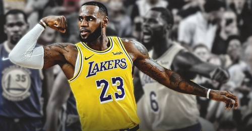 LeBron James nearly cracked before reminding himself of long-term plan for L.A.