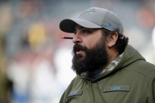 Detroit Lions' Matt Patricia: 'We're not hitting the panic button'