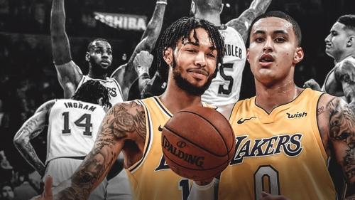 Lakers' Kyle Kuzma, Brandon Ingram joke about the 'Ingram special' punch