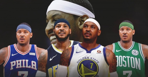 5 best options for Carmelo Anthony if the Rockets waive him