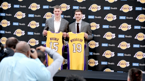 Lakers Assign Rookies Moritz Wagner & Svi Mykhailiuk To South Bay