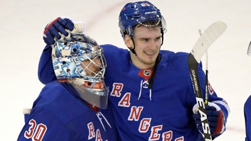 Rangers' Buchnevich out 4 to 6 weeks with broken thumb