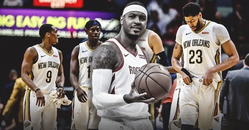 REPORT: Pelicans won't have interest in Carmelo Anthony should he become available