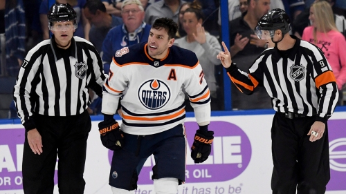 Snake-bitten Lucic has no answer for goalless drought with Oilers