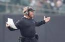 Gruden takes blame for Raiders' 4th down throwaway