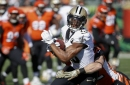Saints' Michael Thomas tied for lead league in receptions