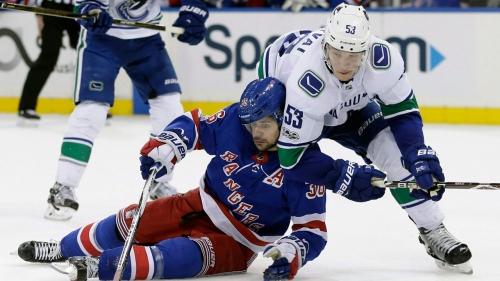 NHL Live Tracker: Canucks vs. Rangers
