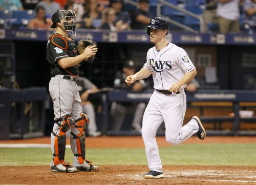 Rays Joey Wendle fourth in AL rookie voting