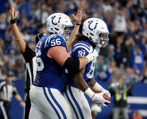 Quenton Nelson gets mic'd up by Colts