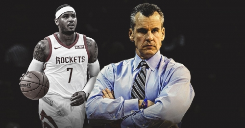 Thunder coach Billy Donovan says he had a good time with Carmelo Anthony last season