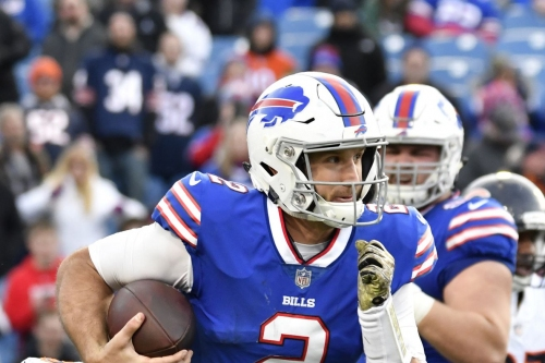 Bills release backup QB Nathan Peterman