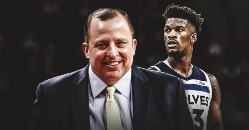 Tom Thibodeau says he's 'happy' with what Timberwolves got in Jimmy Butler trade