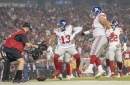 Giants at 49ers halftime score: Giants trail, 13-10
