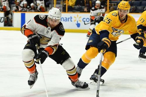 Ducks vs Predators GAMETHREAD