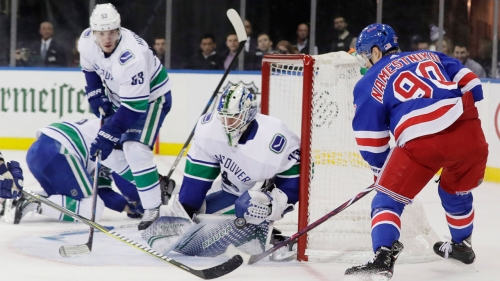 Canucks drop close affair to Rangers in second consecutive loss