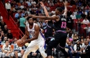 Heat fizzle out after solid start in loss to Joel Embiid, 76ers