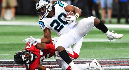 Panthers release running back C.J. Anderson