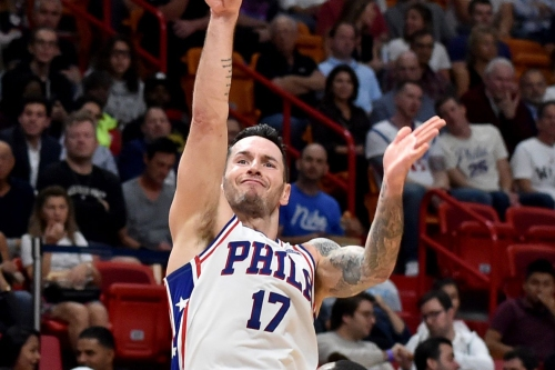 Sixers defeat the Heat, 124-114