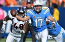 Su'a Cravens knows the secret to beating the Chargers - rattle Philip Rivers