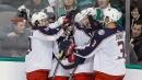 Dubois gets go-ahead goal, Blue Jackets beat Stars
