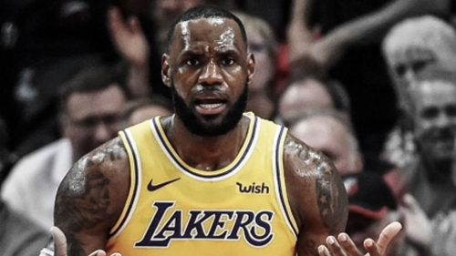 Lakers' LeBron James sends message to Caris LeVert after horrific injury