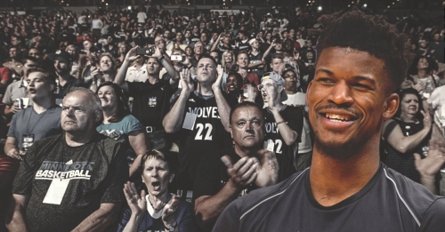 Jimmy Butler's agent throws shade at Timberwolves fans