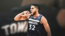 Timberwolves' Karl-Anthony Towns has weird triple-double vs. Nets