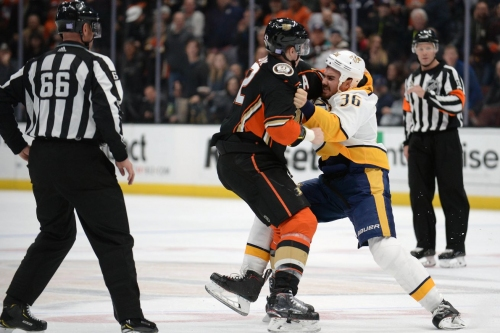 Nashville Predators 1, Anaheim Ducks 2: Shootout, Powerplay Shut Down