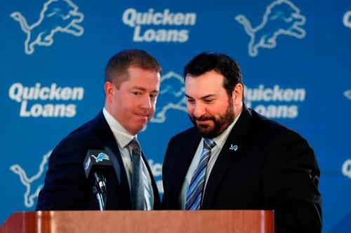 Detroit Lions' Bob Quinn and Matt Patricia have no excuse next season