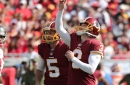 Redskins Vs. Bucs - Studs and Duds