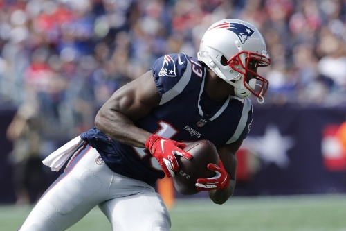 Phillip Dorsett making most of limited sample size in Patriots' passing game