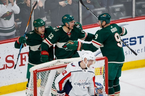 Finally home! The Wild welcome the Cup-winning Capitals to St. Paul