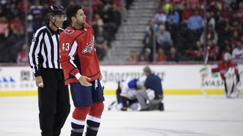 Capitals forward Tom Wilson's 20-game suspension reduced to 14