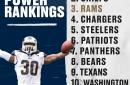 Week 11 power rankings