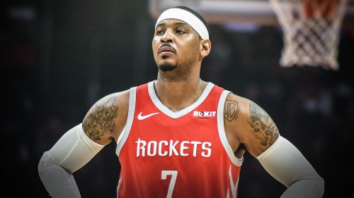 Report: Clippers won't bid for Carmelo Anthony if he's cut by Rockets