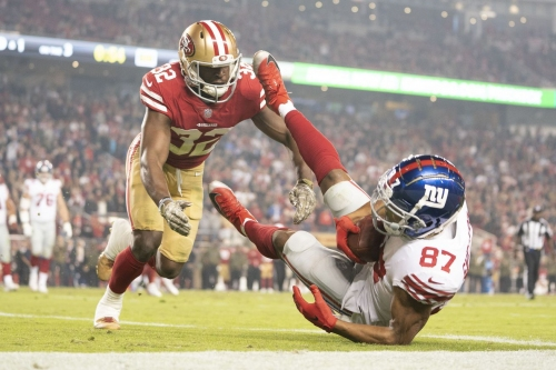 The 49ers would have beat the Giants if...