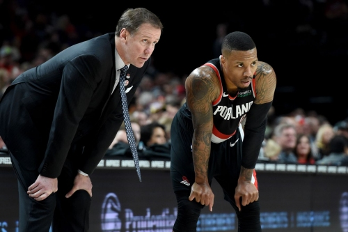 Lillard (Knee) Missed Practice; Listed as Probable vs. Lakers