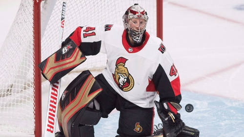 Senators still looking to find franchise goalie in the draft