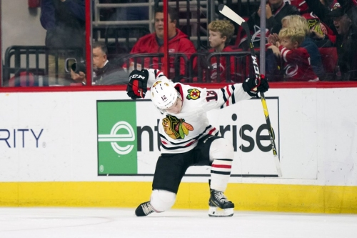 3 up, 3 down after Blackhawks loss to Hurricanes