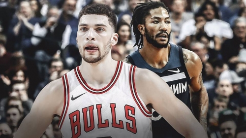 Zach LaVine says Derrick Rose is still probably top 10 fastest players in the NBA